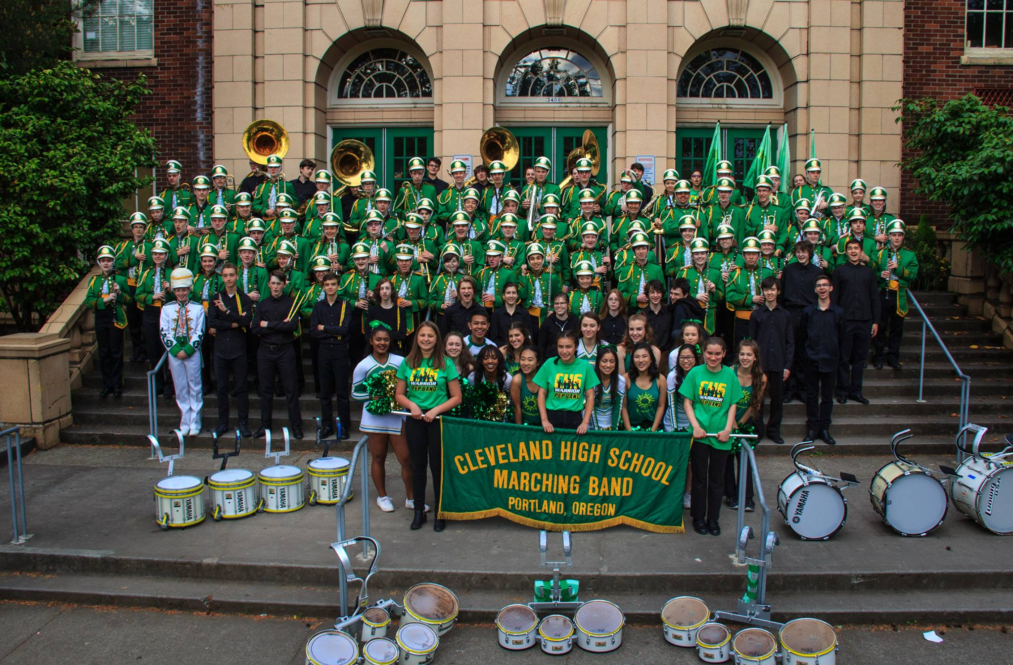Welcome Cleveland High School Bands